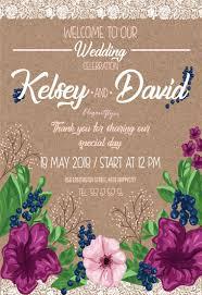 wedding flyer free flyer psd template by elegantflyer