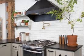 brick backsplash in kitchen search viewer hgtv