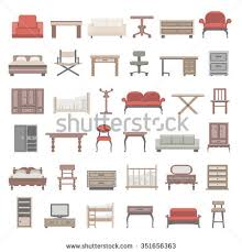 furniture set stock images royalty free images u0026 vectors