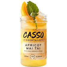 mai tai cocktail casso apricot mai tai jam jar cocktail