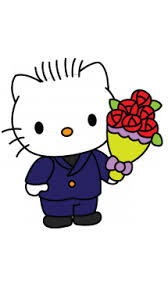 draw dear daniel kitty cartoons easy step step