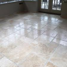 floor attractive travertine flooring for modern design ideas