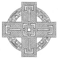 15 pics of celtic cross mandala coloring pages celtic cross