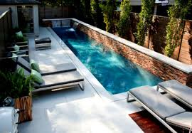 small rectangular pool designs ideas futuristic home and backyard