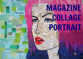 Diy Magazine Wall Art by Magazine Collage Portrait Tutorial Youtube