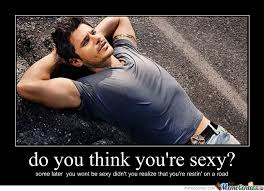 Sexy Guy Meme - you re on a road damn sexy guy by defne222919 meme center
