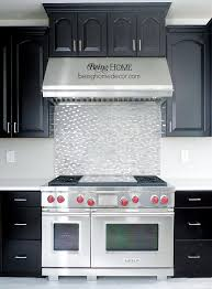 Bright Tile Backsplash Designs Over Stove  Installing Tile - Backsplash designs behind stove