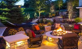 Vista Landscape Lighting by Boulder Wall Landscaping In Minneapolis Mn Southview Design
