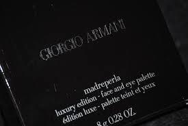 giorgio armani u0027madreperla u0027 face palette luxury edition holiday