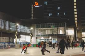 new outdoor ice rink opens in capitol district omaha metro