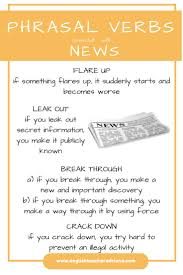 Verb Phrases Worksheets 766 Best Phrasal Verbs Images On Pinterest Learning English