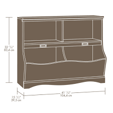 Sauder Bookcase by Sauder Pogo Bookcase Footboard 414436