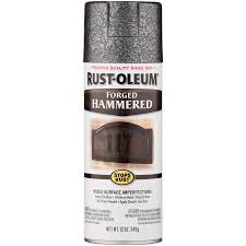rust oleum forged hammered antique pewter spray paint 12 oz