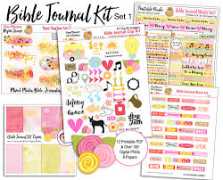 bible journal kit u0026 free printable biblejournallove com