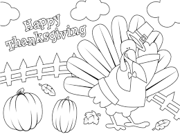 thanksgiving color book free printable throughout coloring pages