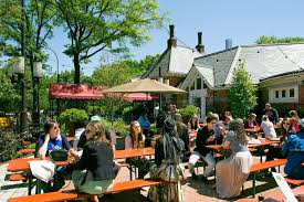 Backyard Beer Garden - tavern on the green adds a beer garden the new york times