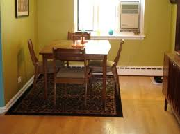dining table with rug underneath rug under kitchen table to rug for under kitchen table braided rug