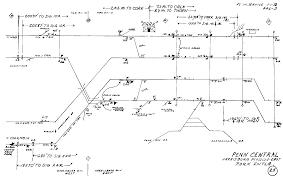 Septa Train Map Prr Interlocking Diagrams Philadelphia To Harrisburg Main Line