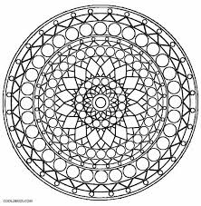 illusions coloring pages printable kaleidoscope coloring pages for kids cool2bkids