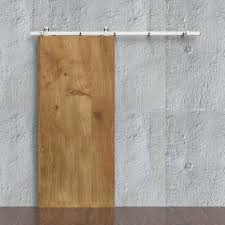 Frosted Glass Sliding Barn Door by Winsoon 5 16ft Sliding Barn Door Hardware Single Door Track Kit