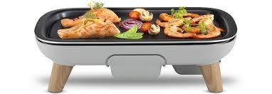 cuisine plancha facile tefal cb658b01 saveurs bois plancha électrique boulanger