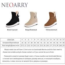 womens size 12 narrow winter boots neoarry boots warm winter boots simple heel