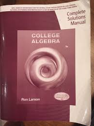 100 solution manual for larson edwards worked out solutions