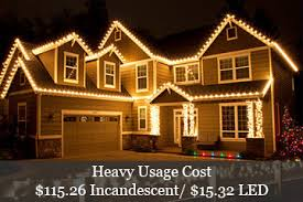 christmas lights power consumption