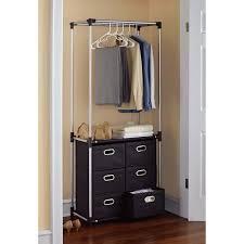 mainstays 6 drawer closet organizer black walmart com