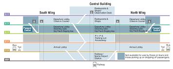 Jfk Map Airport Guide International For Jfk Terminal 4 Map