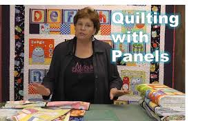 using quilting panels with precuts youtube