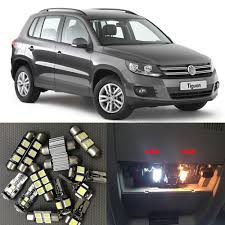 volkswagen tiguan white interior online shop 14pcs white auto interior led light bulbs canbus kit