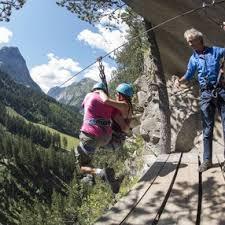 bureau des guides pralognan climbing via ferrata adventure courses in pralognan la vanoise