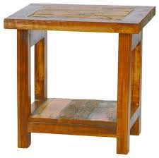small wood end table shop reclaimed wood end table products on houzz small end tables