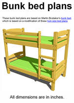 Free Bunk Bed Plans Twin by 14 Free Bunk Bed Plans How To Build A Bunkbed