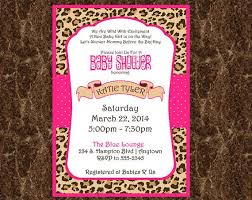 zebra print baby shower1 year birthday party locations cheetah print invitations printable cheetah print invitation for