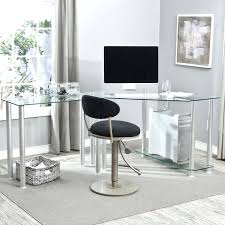 contempory home contemporary executive glass office desk conference table photo