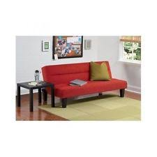 Sofa Bed Futon Microfiber Futon Sofa Guest Sleeper Bed Couch Kids Small Furniture