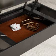 turner lift top coffee table black walmart com