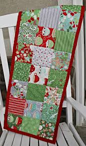 how to make a simple table runner the stitching scientist