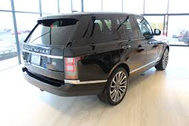 range rover truck black 2015 land rover range rover autobiography stock 7n013105a for
