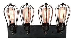 industrial bathroom light fixtures amazon com