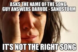 Sandstorm Meme - strange april fool getting every artist magnetic magazine