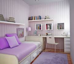bedroom stripes wallpaper and floating shelves with desk also cute rooms ideas for your bedroom decoration stripes wallpaper and floating shelves with desk also