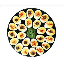 deviled egg tray kroger deli bakery party trays appetizer deviled eggs polyvore