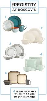 creative wedding registries dinnerware tips with the wedding registry at boscov s create