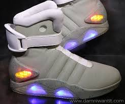 la light up shoes as a fan of back to the future these light up shoes are a must have