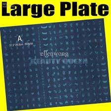 big stamp plate 268 designs large nail art stamping image