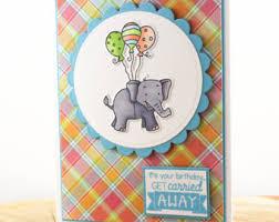 happy birthday card elephant birthday card elegant birthday
