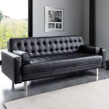 canap clic clac noir canapé clic clac capitonné 3 places noir living rooms and
